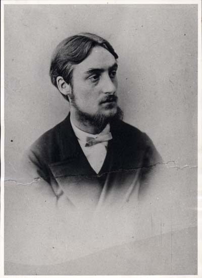 Photograph of Hopkins by his uncle, George Giberne, c. 1866