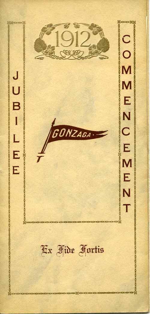 Item 79: Jubilee Commencement Program, 1912