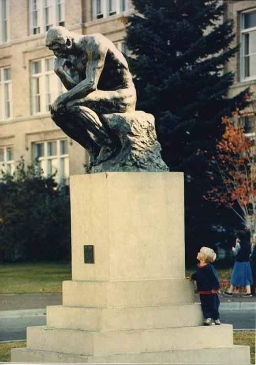 "Item 84: ""The Thinker"", 1986"