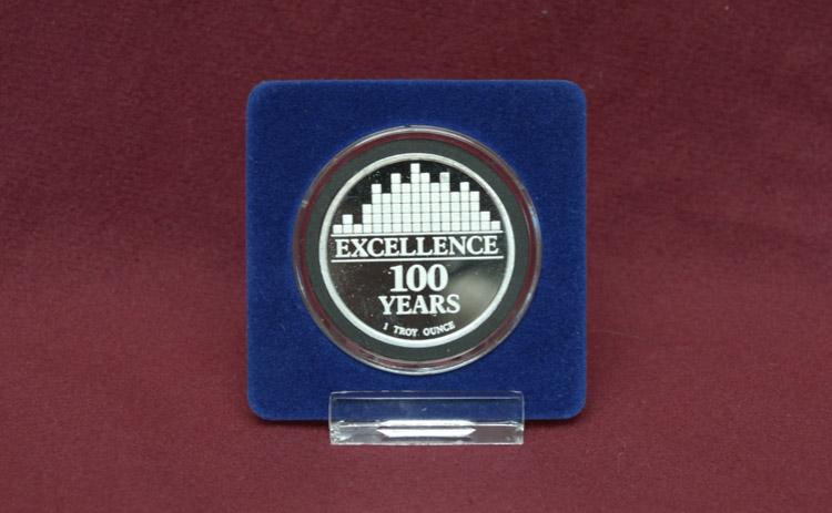 Item 85: Gonzaga University's Fine Silver Centennial Coin, 1987