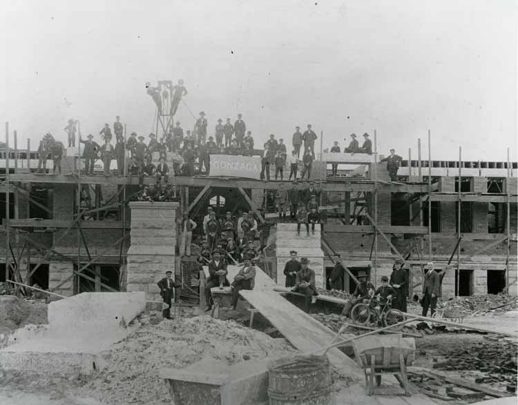 Item 97: Administration Building (now College Hall) Construction, 1897
