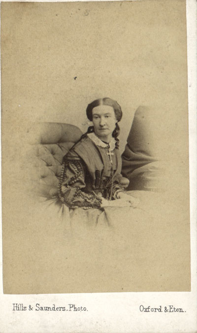 Kate Hopkins, original carte de visite, 1861