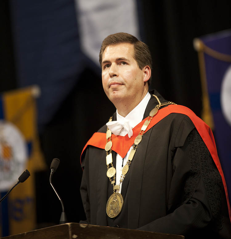 Item 110: : President Thayne McCulloh's Inauguration, October 22, 2010