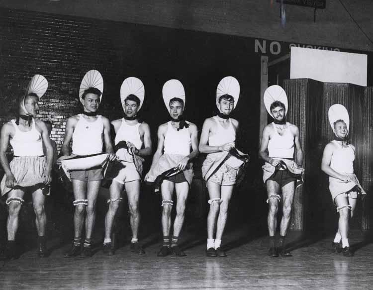 Item 112: Mendel Club Members at the Mendel Society Musicale, 1948