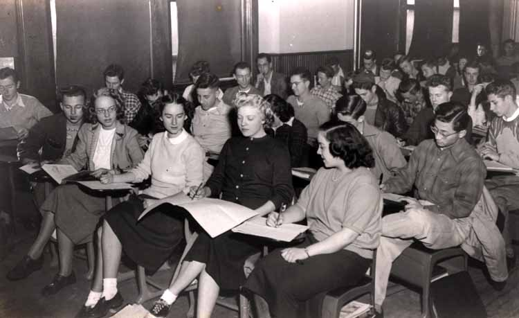 Item 114: Women in the Classroom, about 1949