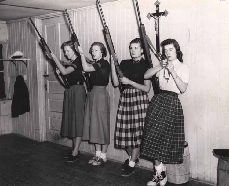 Item 116: Women's Rifle Team, 1953