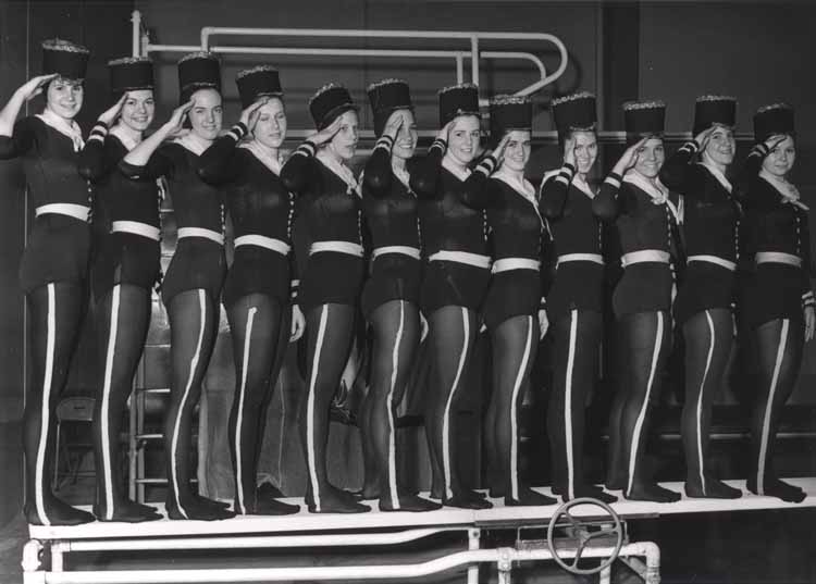 """Item 117: """"Westward Ho"""", Synchronized Swim Show, 1968"""