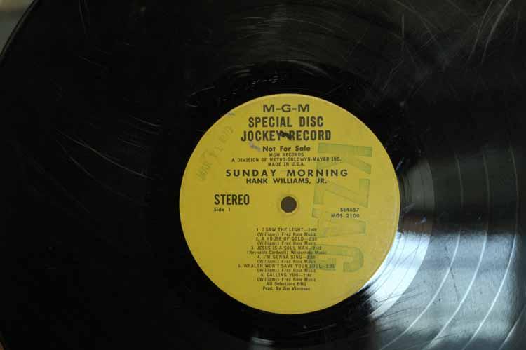 "Item 119: ""M-G-M Special Disc Jockey Record"", KZAG 33 1/3 Record, March 11, 1970"