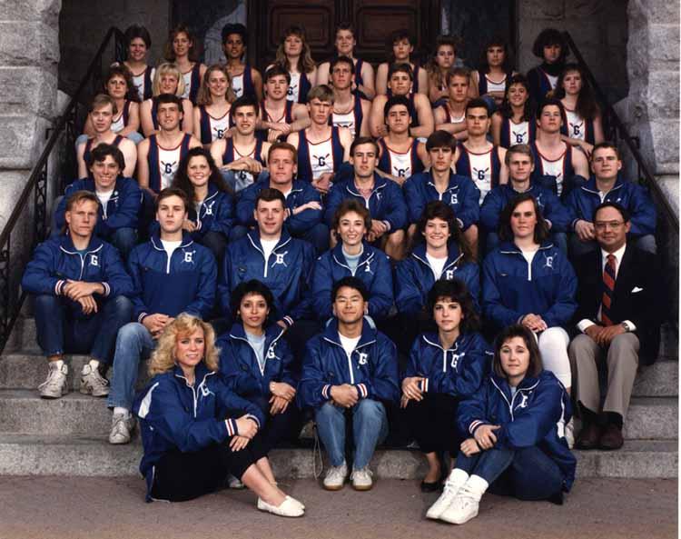 Item 121: Gonzaga Men's and Women's Crew, 1986-1987