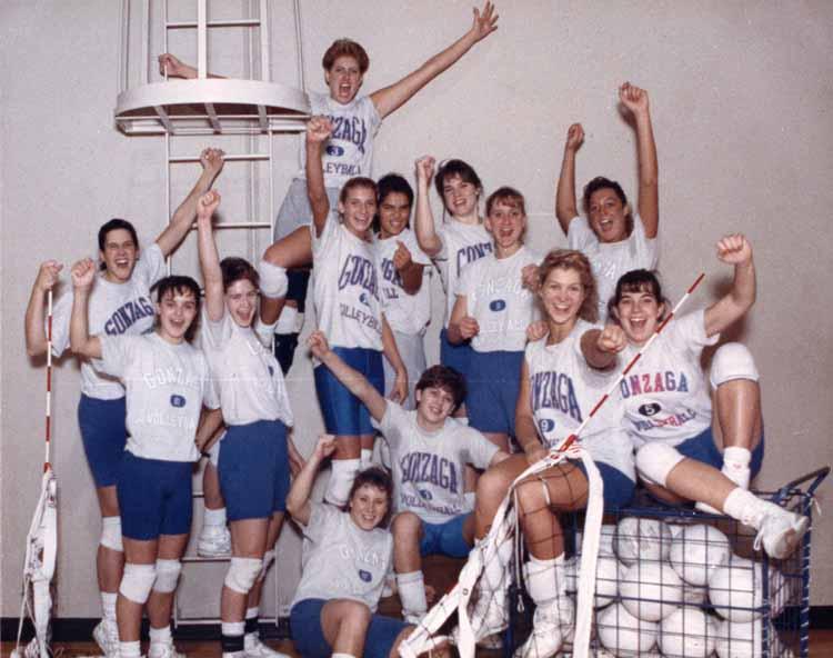 Item 122: Volleyball Team, 1990 – 1991