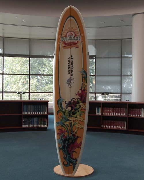 Item 125: Maui Invitational Surfboard, 2009