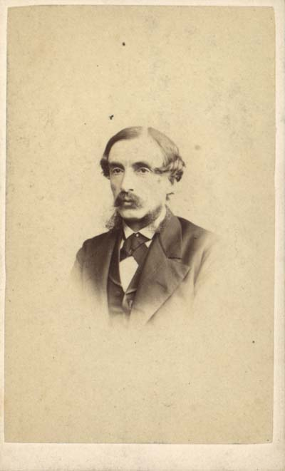 Manley Hopkins, original carte de visites