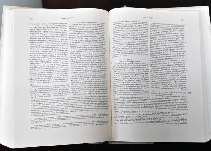 Open book: Albertus Magnus, Super Ethica: Commenta et quaestiones, ed. Kübel  (Cologne, 1968)