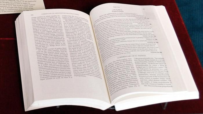 Thomas Aquinas, Commentary on Aristotle's Nicomachean Ethics, trans. Litzinger, O.P. (Notre Dame, Ind., 1964, 1993)