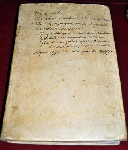 Volume 2: Robert Bellarmine, Disputationes de controversiis Christianae fidei adversus huius temporis haereticos (Venice, 1599)