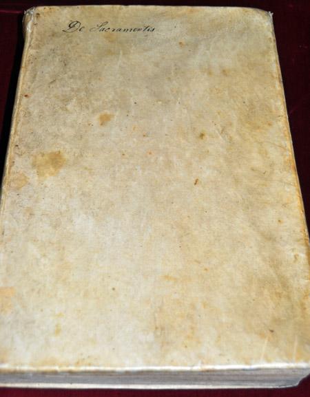 Volume 3: Robert Bellarmine, Disputationes de controversiis Christianae fidei adversus huius temporis haereticos (Venice, 1599)
