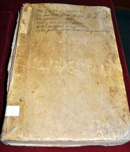 Volume 4: Robert Bellarmine, Disputationes de controversiis Christianae fidei adversus huius temporis haereticos (Venice, 1599)