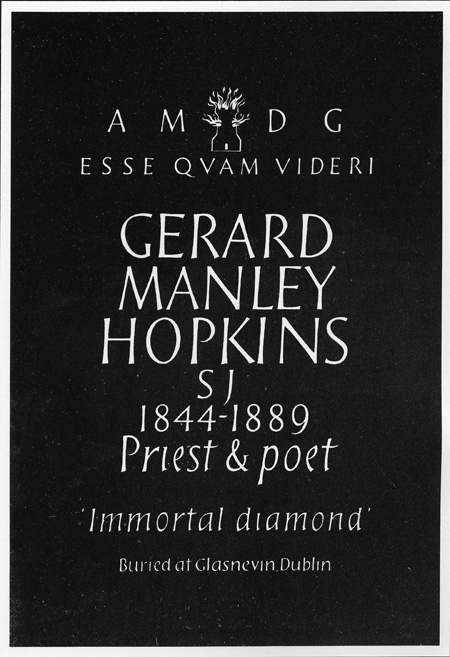 part 2/2: Program for the dedication of the Hopkins memorial inm Poets' Corner, Westminister Abbey, London, 1975 (BRC 37:19)