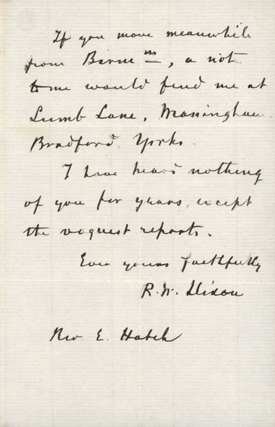 part 2/2: Letter from Dixon to Edward Hatch, 9 July 1866 (BRC 21:1)