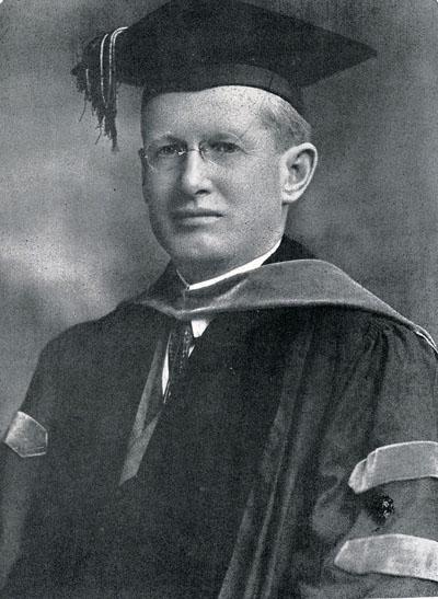 Edward J. Cannon, 1929 (Dean: 1912 – 1934)