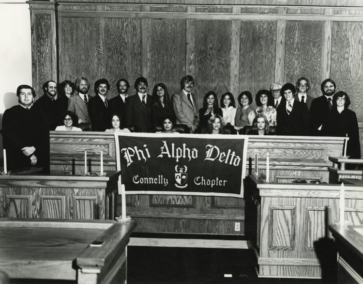 Phi Alpha Delta Chapter, 1978