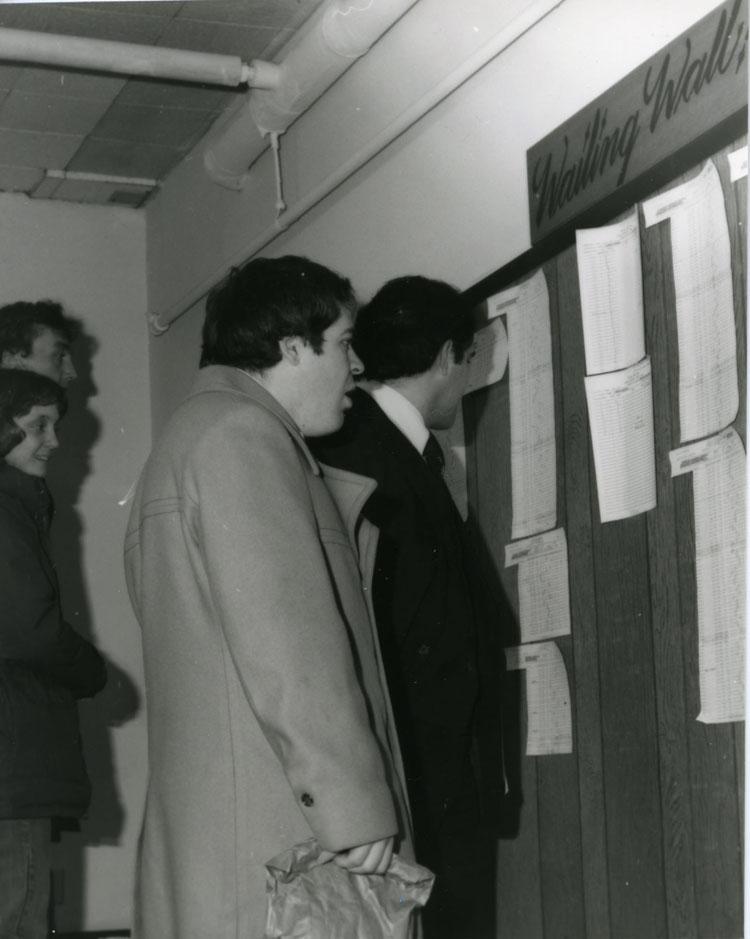 Wailing Wall, 1970s