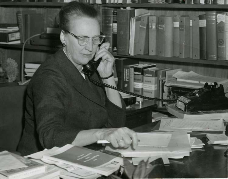 Emily Ehlinger (Librarian: 1948 - 1975)