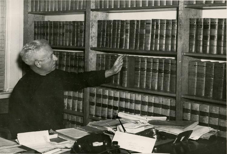 Fr. James V. Linden, SJ, 1950 (Professor/Law Regent 1929 - 1961)