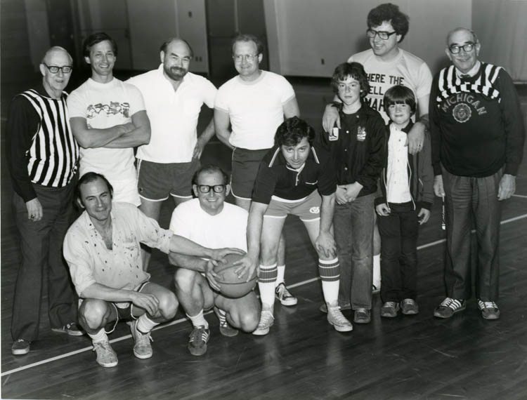 Faculty vs. Students Basketball Game, 1979