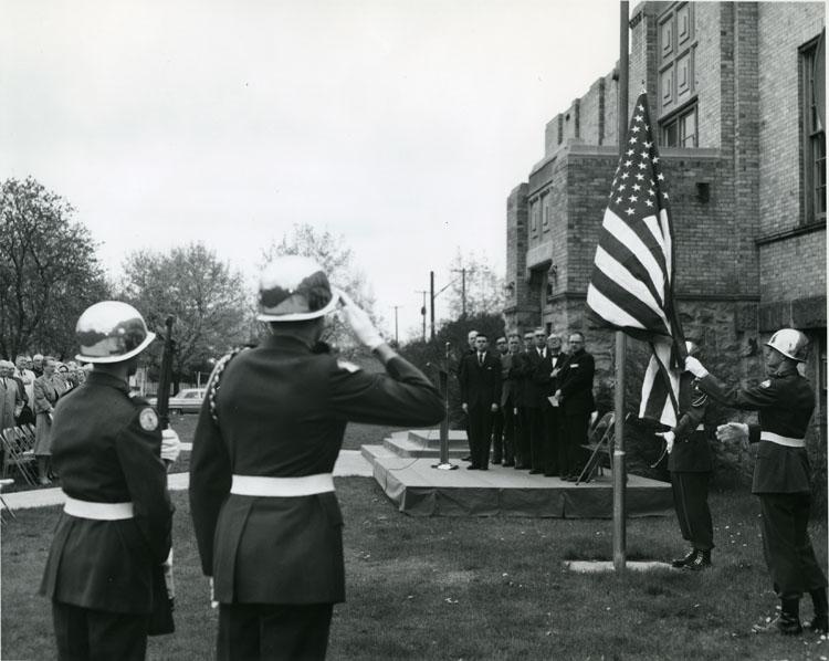 School of Law Dedication, April 27, 1963