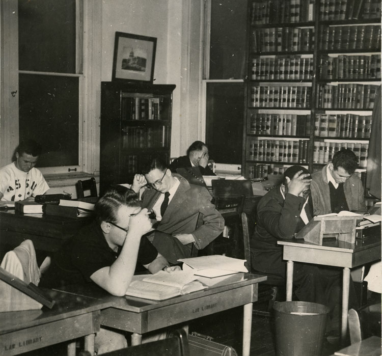 Law School Library, early 1950s