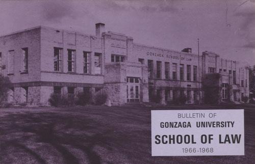Bulletin of Gonzaga University School of Law, 1966 – 1968