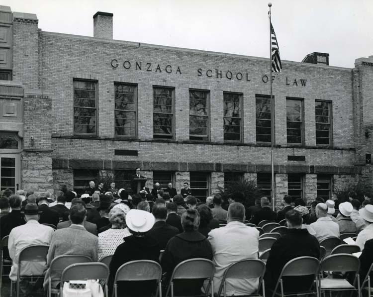 Dedication of Law Building, April 27, 1963