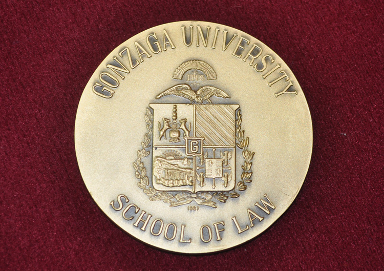 Gonzaga University School of Law Medal