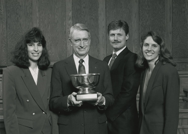 National Moot Court Team, 1993