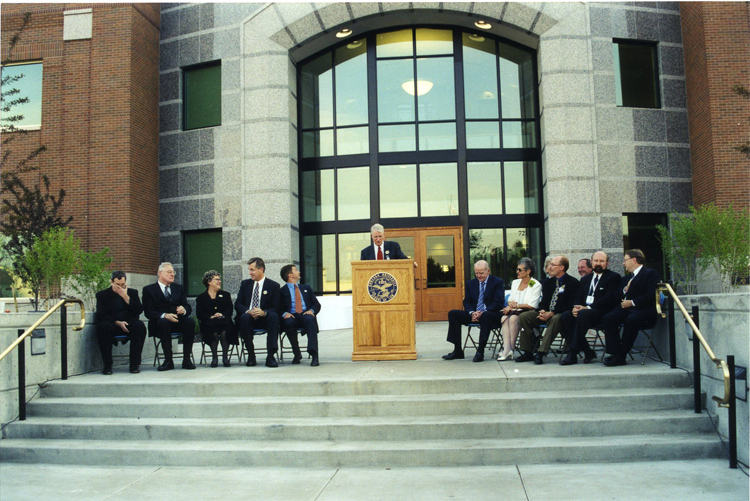 Law School Dedication, October 19, 2000