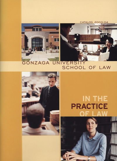 Law School Admissions View Book, 2003-2004