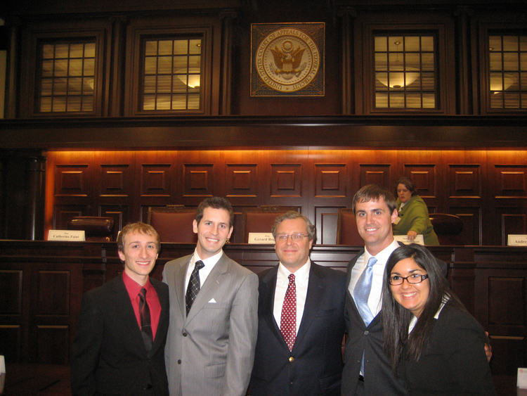Saul Lefkowitz Moot Court Competition Team, 2011