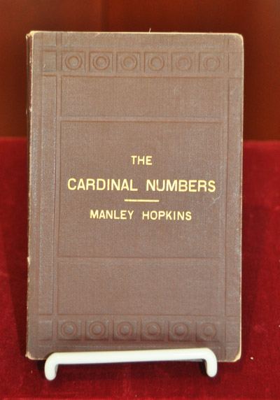 Cardinal Numbers with an Introductory Chapter on Numbers Generally