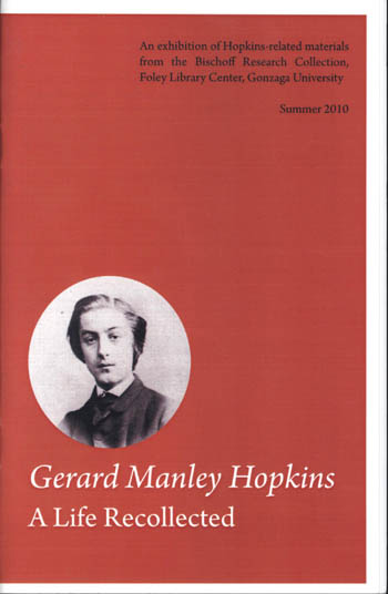Gerard Manley Hopkins: A Life Recollected
