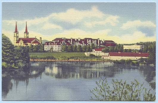 Gonzaga postcard