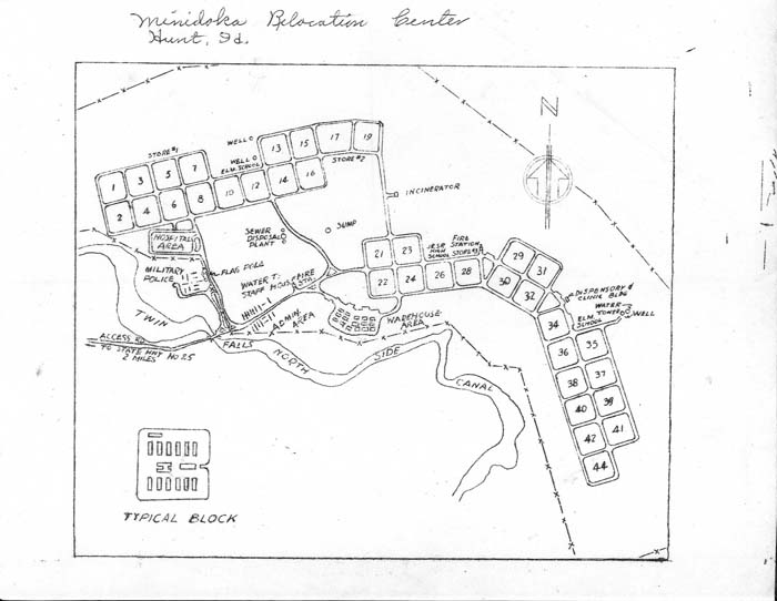 """An Aerial View of Minidoka,"" Minidoka Plan"