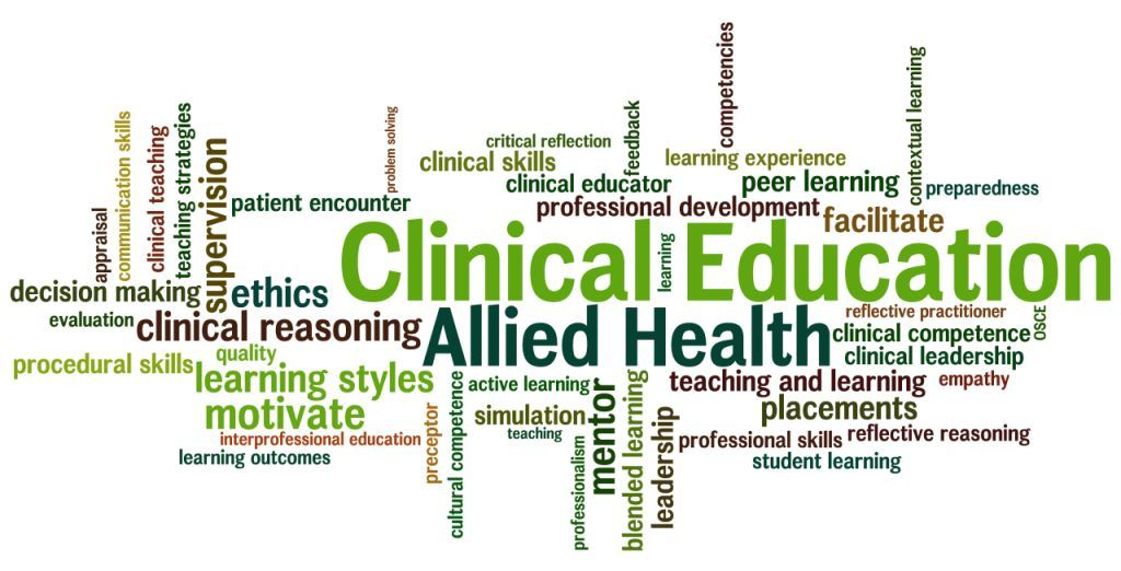 Clinical Education in Health - Magazine cover