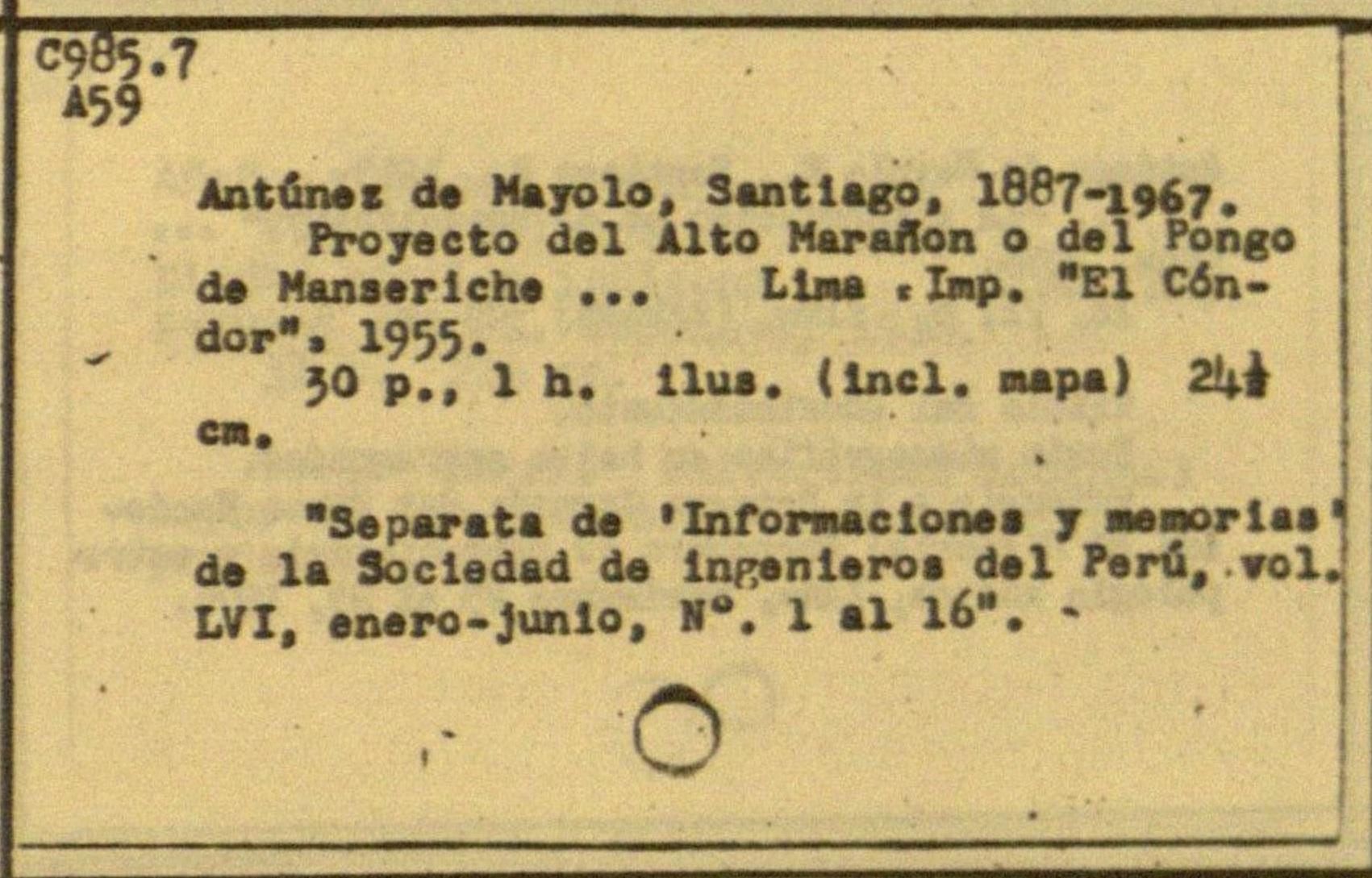 Image for Catálogo de Autores de la Colección Peruana
