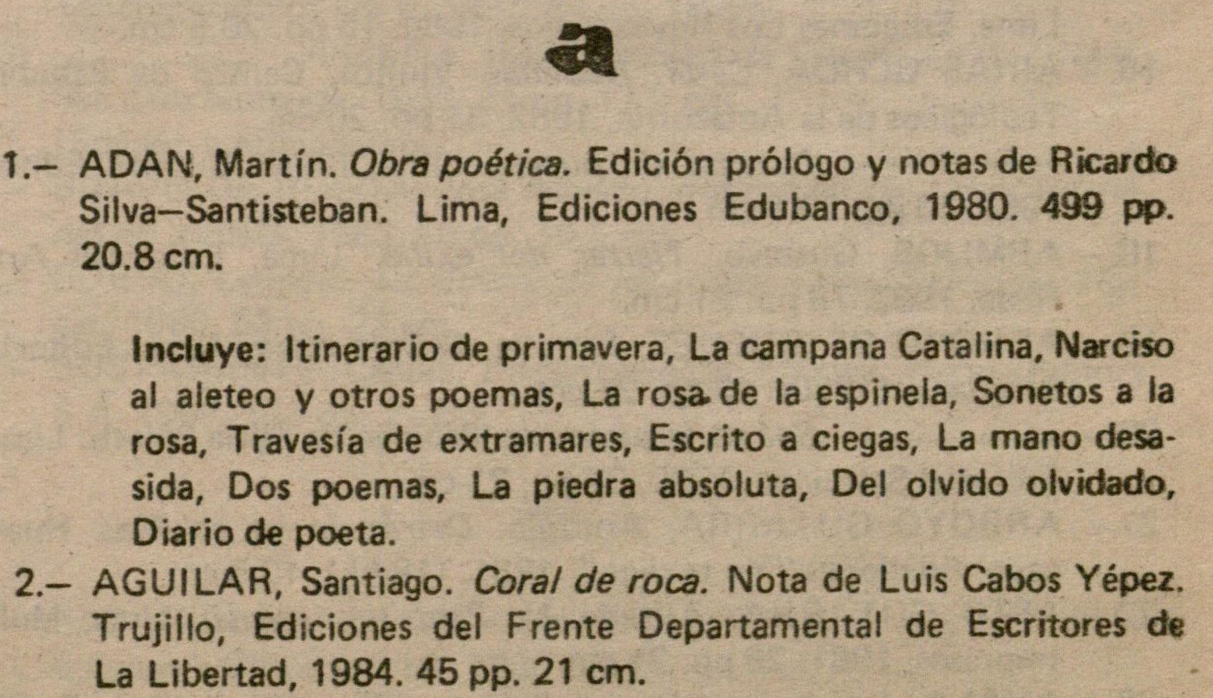 Poesia Peruana 2