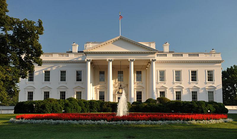 Decorative image of the White House, Washington