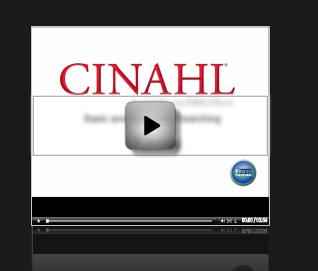 CINAHL Video still