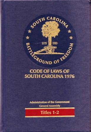 Cover of a volume of the SC Code Annotated
