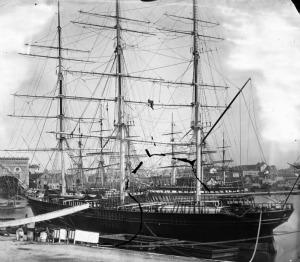 Clipper ship Aviemore, Circular Quay Sydney