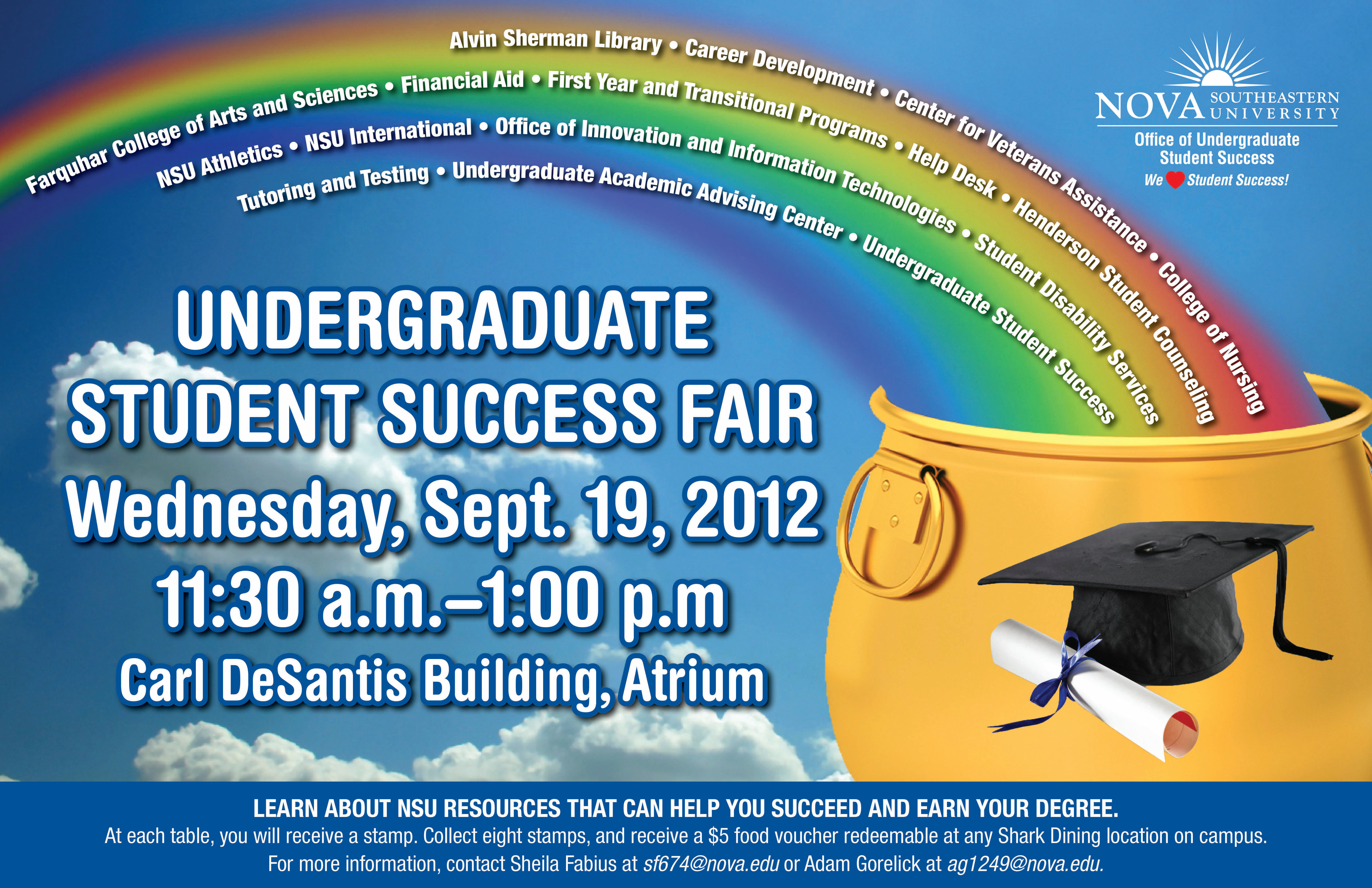 Undergraduate Student Success Fair